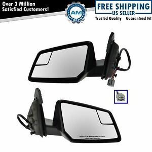 Side View Mirrors Heated Signal Blind Spot Pair Set For Traverse Acadia Outlook
