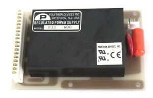 Polytron Devices Model P33 600 Regulated Power Supply 748 7300103 Board