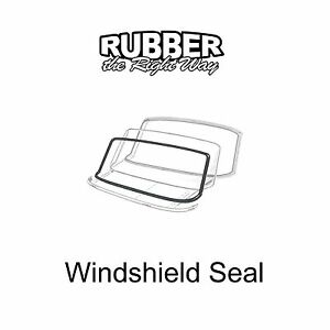 1962 1963 Mercury Meteor Windshield Seal