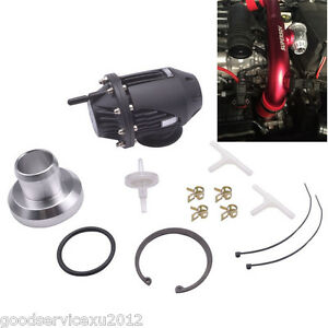 Black Car Off Road Electrical Sqv 4 Ssqv Iv Turbo Blow Off Valve Turbo Bov Kit
