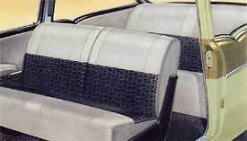 57 Chevy 210 2 door Sedan Seat Covers new 1957 Chevrolet
