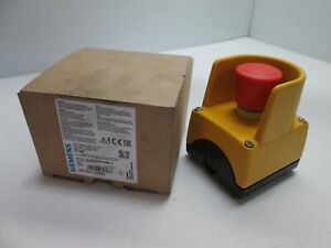 New In Box Siemens 3sf5 811 0ab08 Emergency Stop Button W As interface Adapter