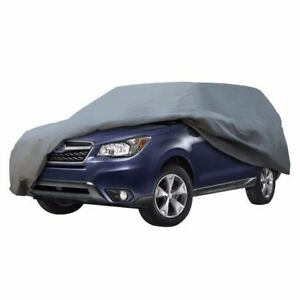 Suv Cover 5 Layer Car Cover Indoor Outdoor Sun Rain Dust Scratch Water Proof