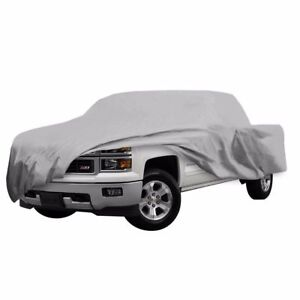 Truck Pickup Car Cover 3 Layer Outdoor Dust Snow Sun Dust Scratch Proof New