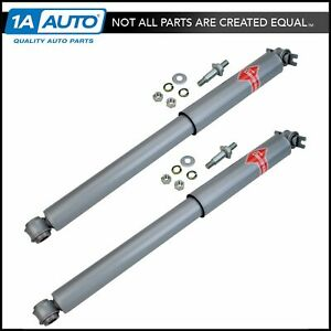Kyb Gas a just Rear Shock Absorber Lh Rh Pair For Chevy Pontiac Olds Cadillac