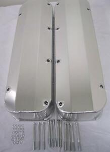 Bb Ford 429 460 Fabricated Aluminum Tall Valve Covers 1 4 Billet Rail Bbf Race