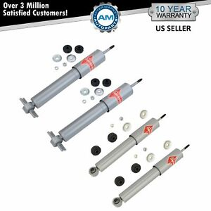 Kyb 4 Piece Gas a just Front Rear Shock Absorber Set Kit For Chevy Corvette