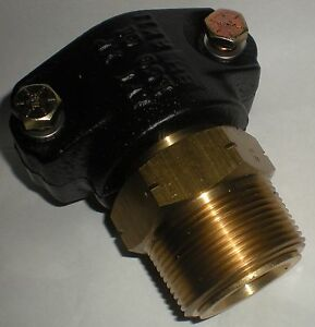 Franklin Fueling Systems 1 1 2 Brass Clamshell Swivel Pipe Fitting Ms xp 150 150