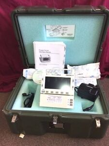 Welch Allyn Propaq 206el Opt 229 Mainstream Sidestream Co2 Spo2 Temp Nibp Ecg