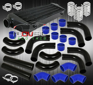 Fin Tube Fmic Front Mount Intercooler 2 5 Turbo Aluminum Pipes Piping Kit Jdm
