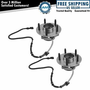 Front Wheel Hub Bearing Pair For 00 04 F150 Pickup Truck 4wd 4x4 W Abs