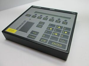Parker Rp240 Operator Interface Power 100ma At 5vdc 2 line Lcd Display
