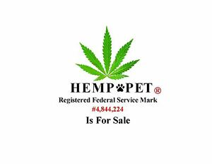 Hemp pet A Registered Federal Consulting Service Mark Is For Sale