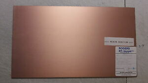 5 Sheets Rogers H frequency Laminates Rt duroid 125 1 Oz Double Sided