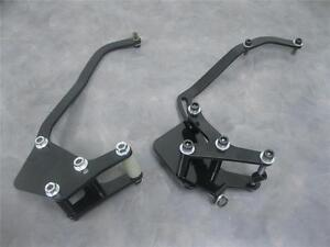 Small Block Chevy Short Water Pump Black Alternator Air Conditioning Brackets