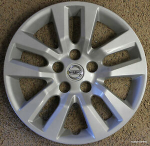 Genuine Hubcap Made By Nissan Altima 2013 16 Original Wheel Cover Hub Cap 13