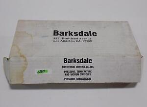 Barksdale Temperature Switch 100 To 400 Mt1h h351 12 Nib