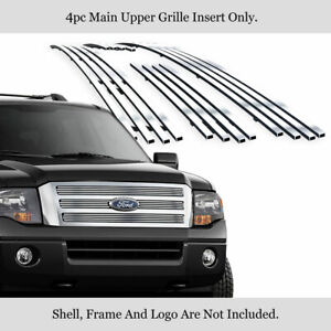 Fits 2007 2014 Ford Expedition Stainless Steel Billet Grille Insert