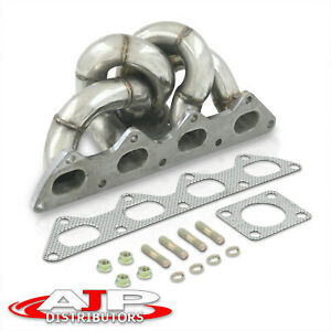 Stainless Steel Header Turbo Manifold For 4g63 Dsm Eclipse Talon Td05 1g 2g