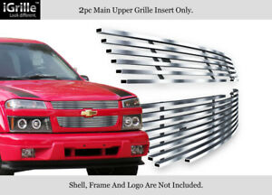 For 2004 2011 Chevy Colorado Stainless Steel Billet Grille Insert
