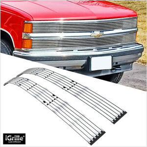 For 94 99 C K Pickup Suburban Blazer Tahoe Phantom Stainless Billet Grille