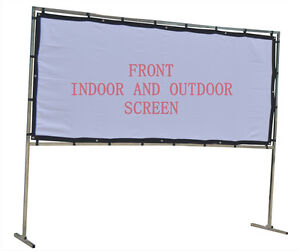 Home Party Screens Outdoor And Indoor 11 5 5 Fts Advertising Screen And Movies