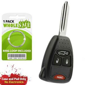 Replacement For 2004 2005 2006 Chrysler Pacifica Key Fob Remote Shell Case