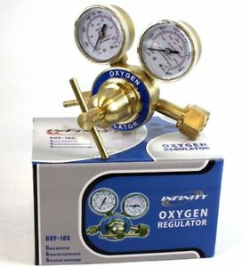 Welding Oxygen Brass Regulator For Oxy Victor Type Torch Cutting Cga 540