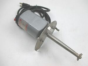 Dayton Electric 2m033a Lab Mixer Stirrer Agitator Shaft Drive 1 15 Hp 5000 Rpm