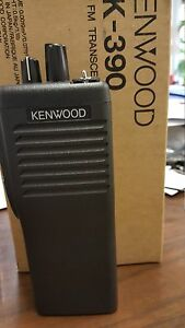 Kenwood Tk 390 Uhf Portable Radio