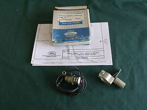 Nos 1965 Ford Mustang Fairlane Hand Brake Warning Lamp Fomoco 65