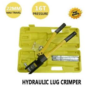 Yqk 300 Quick Hydraulic Pliers Wire Cable Lug Terminal Crimper Tool 16 300mm2