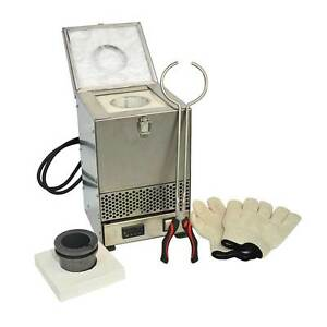 Stainless Steel Tabletop Melting Furnace With 4kg Crucible 110 Volt Hd 2344ss