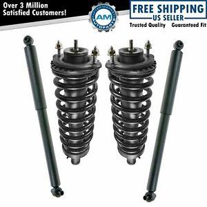 Strut Spring Shock Front Rear Kit Set Of 4 For Buick Chevy Gmc Isuzu Olds Saab