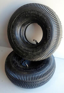 2 Lot 4 10 3 50 4 Hand Truck Air 4 Ply Tire With Inner Tube For 10