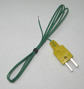 T Type Thermocouple Wire F Digital Thermometer Temperature Sensor Probe Tt1 1p