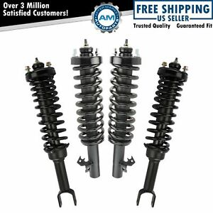 Strut Spring Assembly Front Rear Kit Set Of 4 For 92 95 Honda Civic New