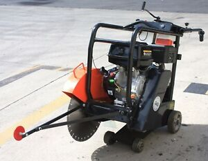 420cc Gas Power Engine Walk Behind Push 18 Concrete Cut off Floor Saw W blade