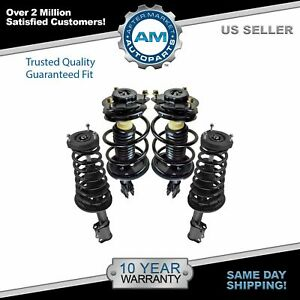 Strut Spring Assembly Front Rear Lh Rh Set Of 4 For 02 03 Toyota Camry Es300