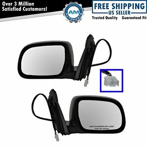Power Heated Memory Mirror Lh Rh Pair Set Of 2 For Lexus Rx330 Rx350 Rx400h