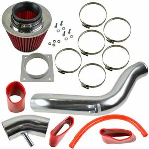 Performance Cold Air Intake Cai Assembly Kit Red Filter For Nissan Altima 2 5l