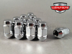 20 Mcgard No Rust Lug Nuts Bulge Acorn 12x1 25 Chrome Wheel Nut Fits Subaru