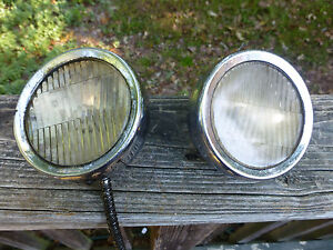 Antique 1920 S 1930 S Cowl Lights Cadillac Packard Buick Olds Nash Studebaker