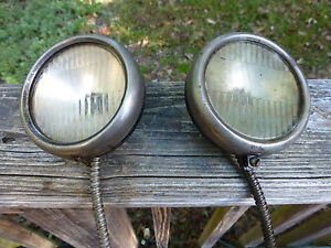Antique 1920s 1930 S Cowl Lights Cadillac Packard Buick Olds Nash Chrysler Dodge
