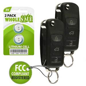 2 Replacement For 2006 2007 2008 2009 2010 Ford Explorer Flip Key Fob Remote