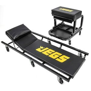 Jegs 81150 Creeper Mechanic Seat Set