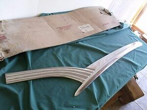 1956 Nos Ford Fairlane Rh Door Moulding Sunliner Crown 56 Oem Fomoco