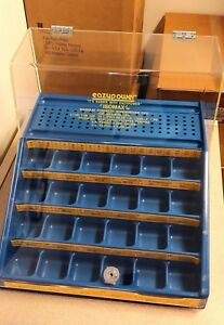 New Countertop Bulk Screwdriver Tip Display Case With Lock Acrylic Top retail