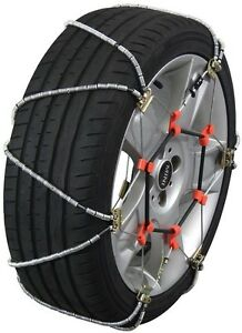 225 50 17 225 50r17 Tire Chains Volt Cable Snow Traction Passenger Vehicle Car