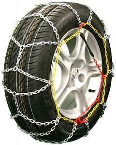 225 75 16 225 75r16 Tire Chains Diamond Back Link Traction Passenger Vehicle